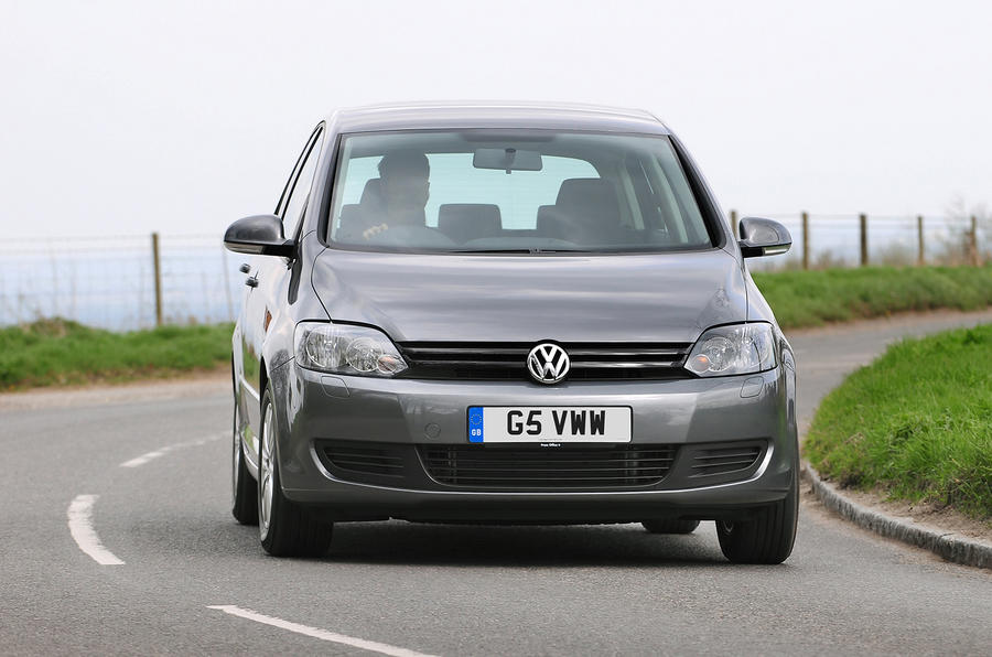 Volkswagen Golf Plus cornering