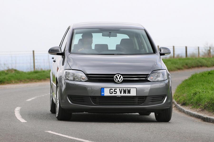Volkswagen Golf Plus cornering