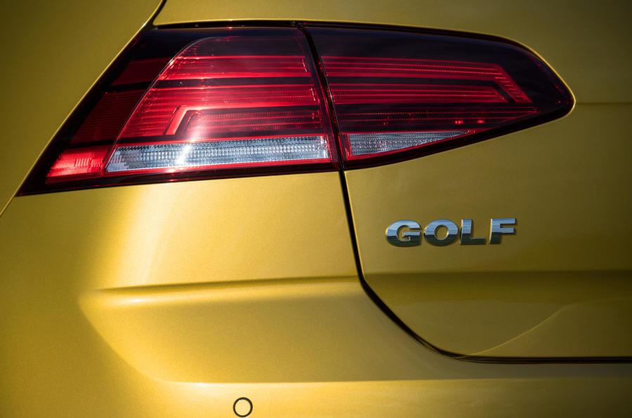 Volkswagen Golf rear LED lights
