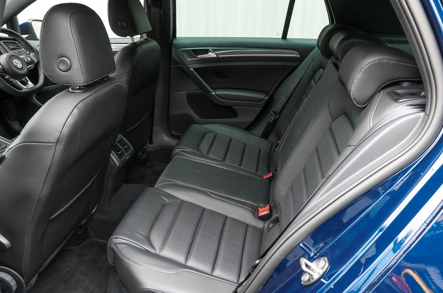 Volkswagen Golf rear seats
