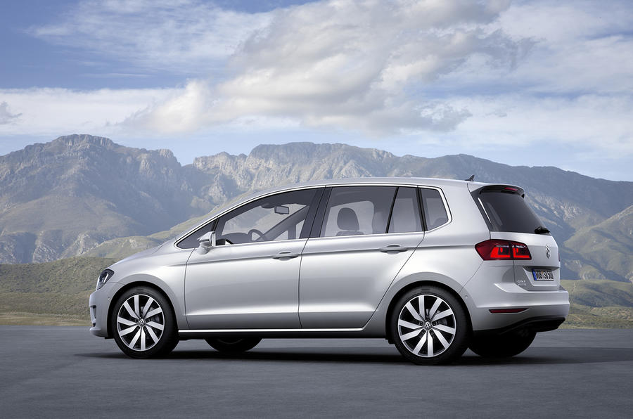 New Volkswagen Golf Plus previewed