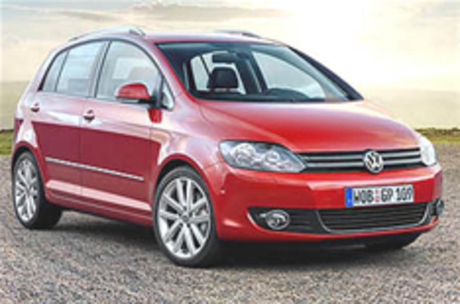 VW Golf Plus unveiled