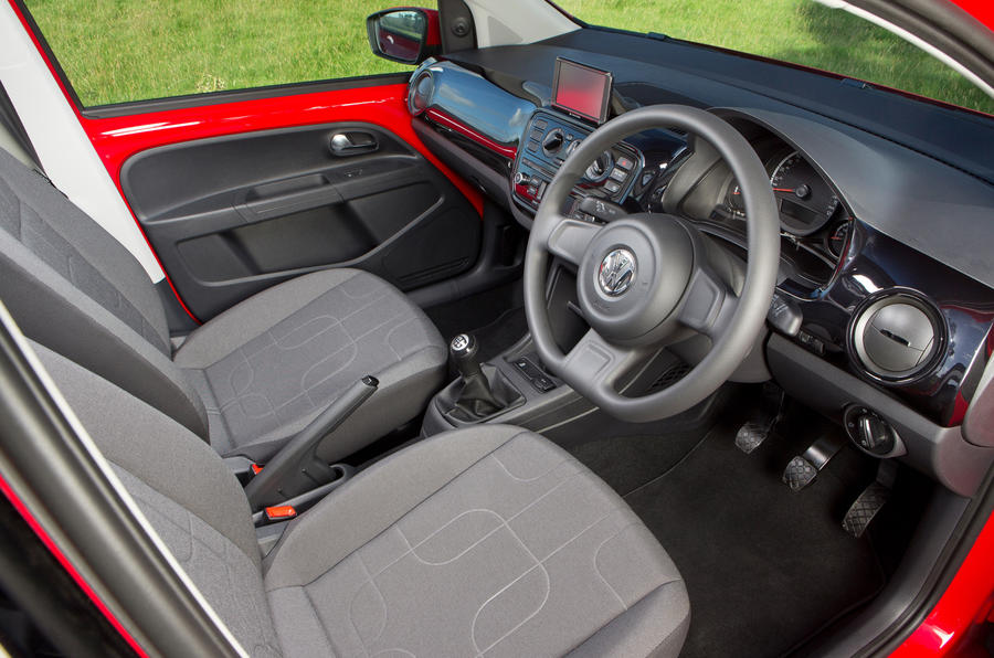 Volkswagen Up interior