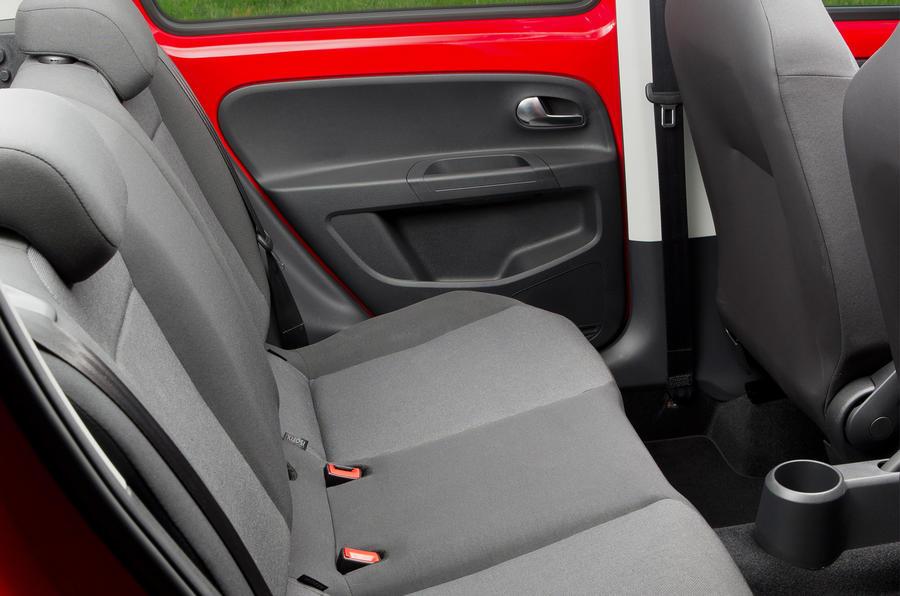 Volkswagen Up rear seats