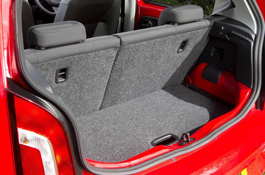 Volkswagen Up boot space