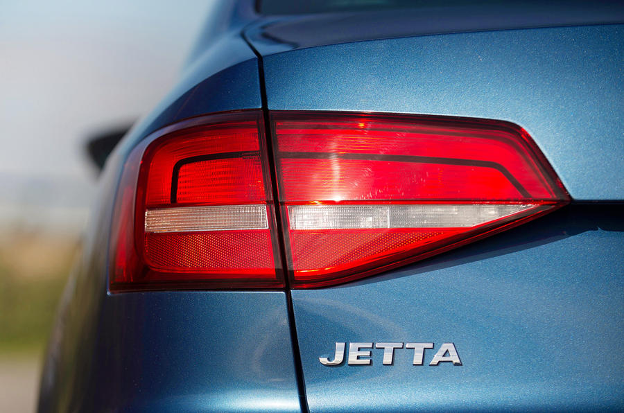 Volkswagen Jetta rear lights