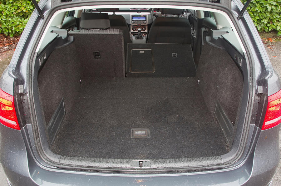 Volkswagen Passat boot space