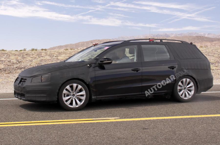 Paris motor show: VW Passat estate