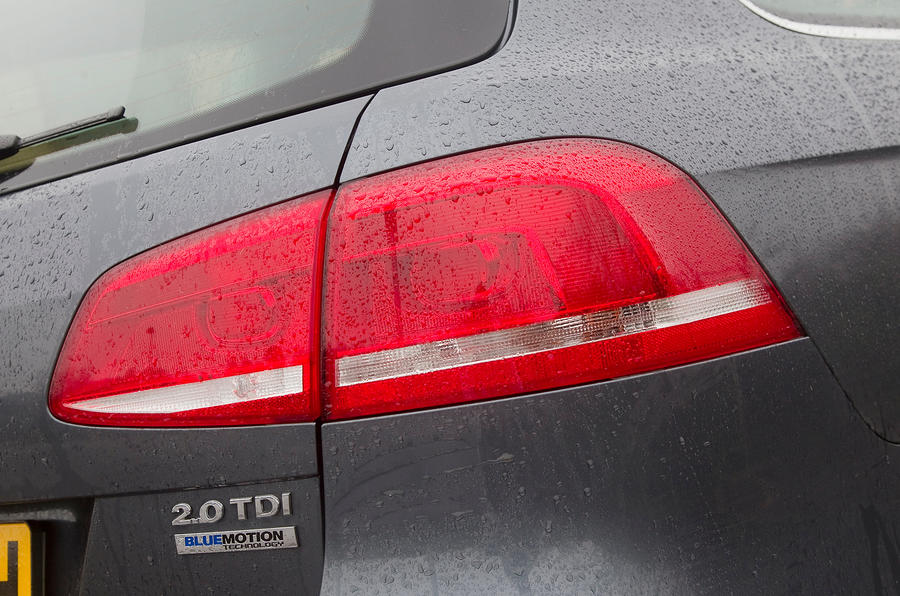 Volkswagen Passat rear lights