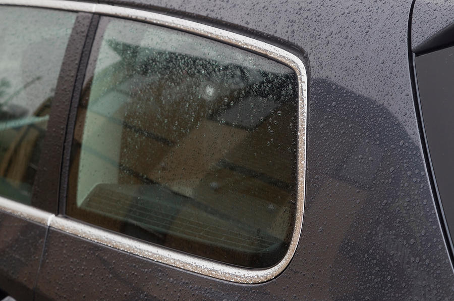 Volkswagen Passat chrome window surrounds