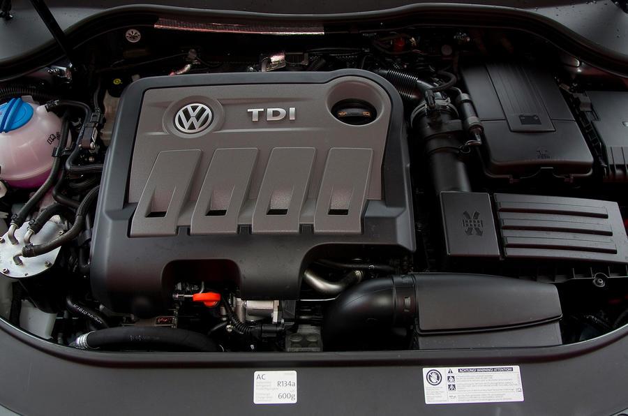 1.6-litre Volkswagen Passat diesel engine