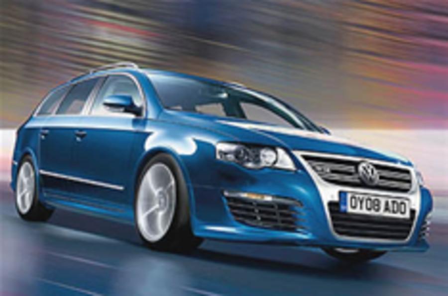 Revealed: VW Passat R36