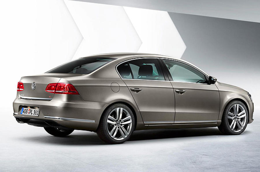 Paris motor show: new VW Passat