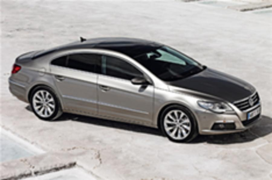Covers off Volkswagen's new Passat CC
