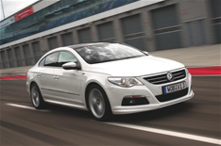 VW Passat CC R-Line for UK