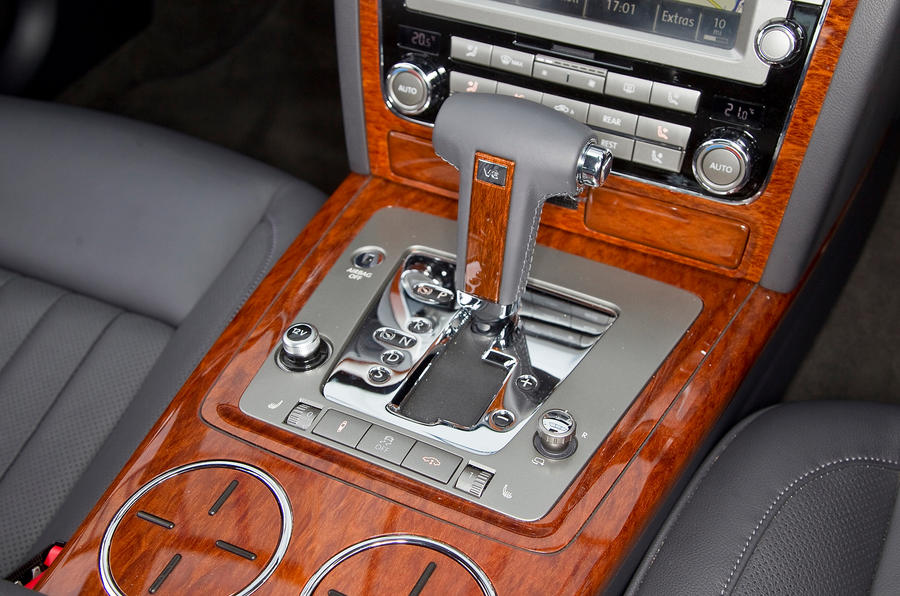 Volkswagen Phaeton automatic gearbox