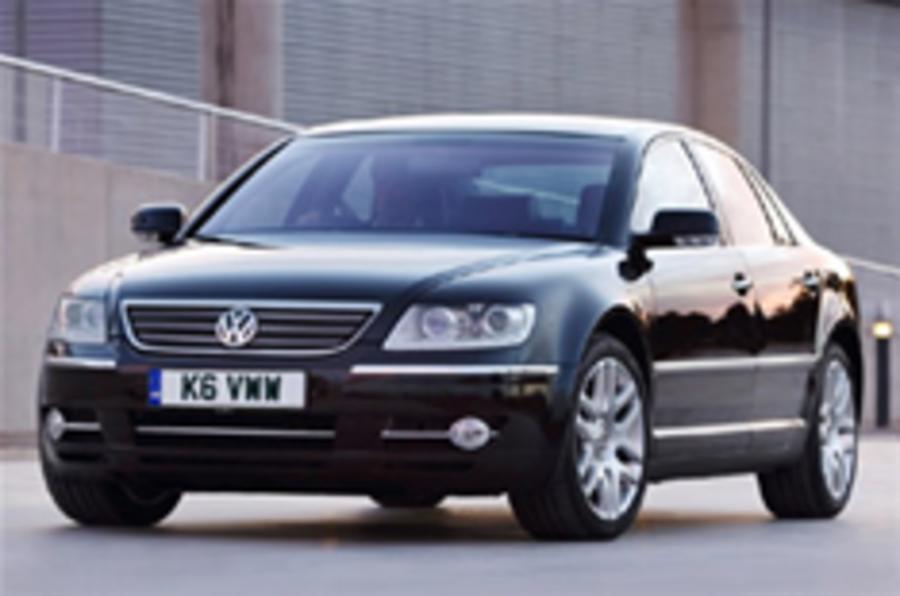Cleaner, sharper VW Phaeton is coming