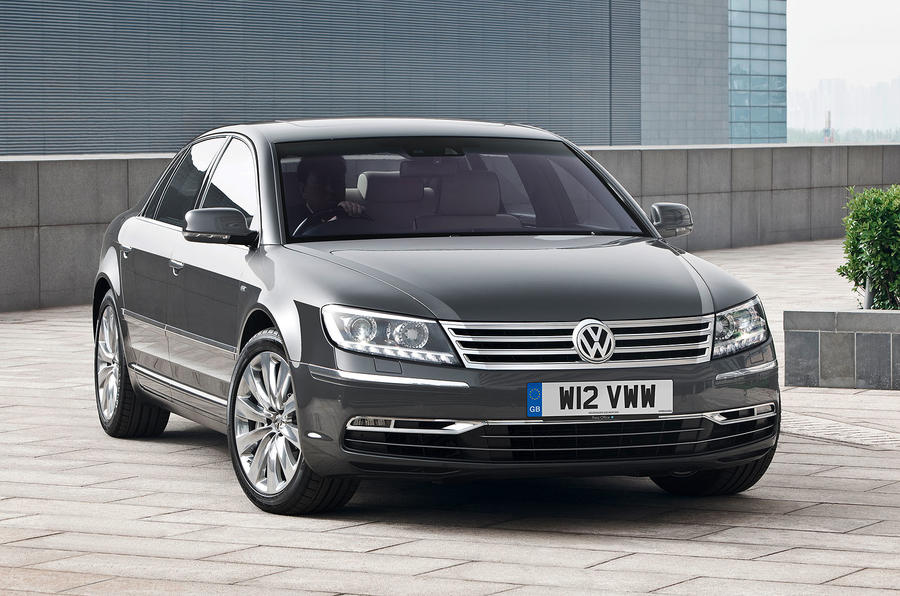 New VW Phaeton from £46,195