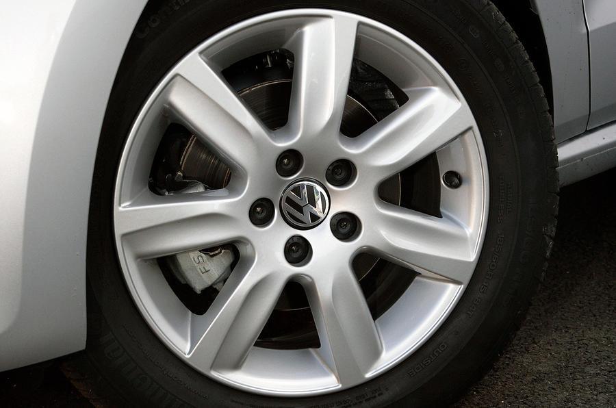 15in Volkswagen Polo alloy wheels