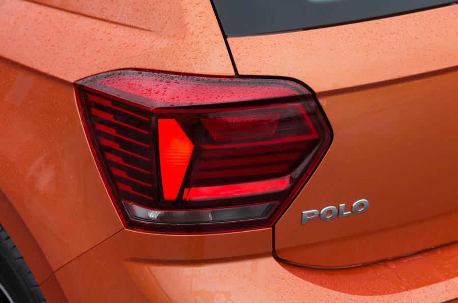 Volkswagen Polo rear light