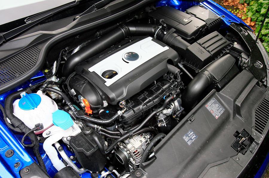 2.0-litre TSI Volkswagen Scirocco engine