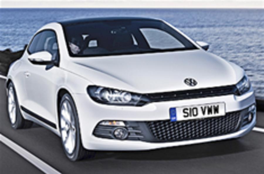 VW planning Scirocco Bluemotion