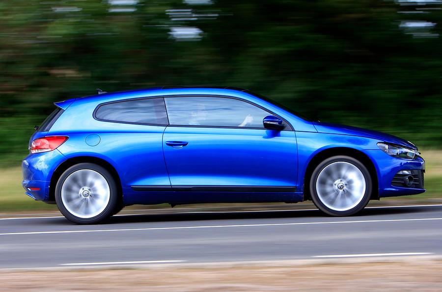 Volkswagen Scirocco side profile