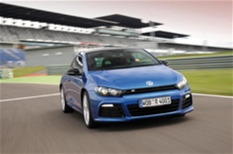 VW Scirocco R: new pics
