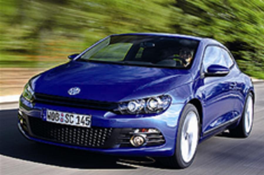 Volkswagen Scirocco: driven on the road