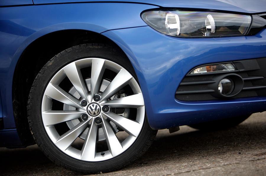 18in Volkswagen Scirocco alloy wheels