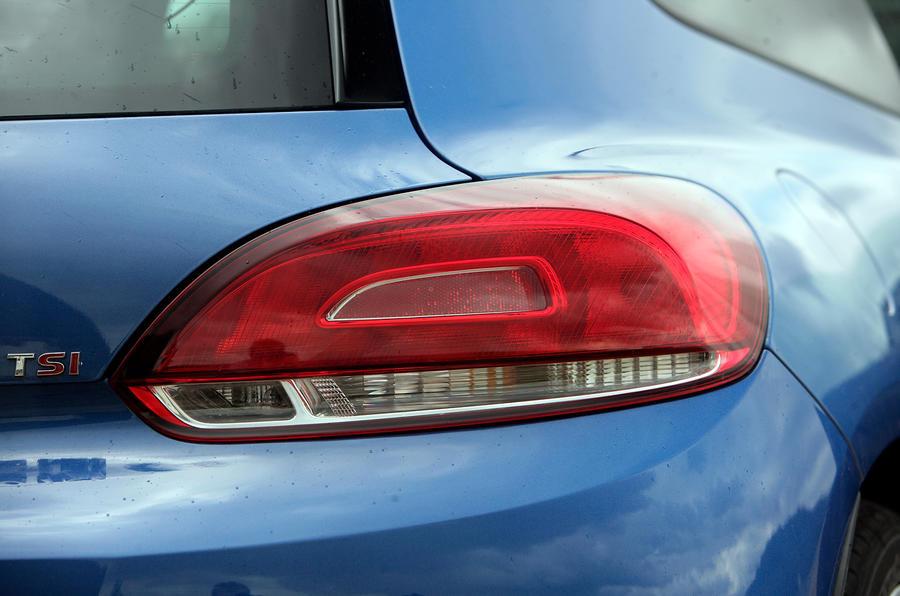 Volkswagen Scirocco rear light