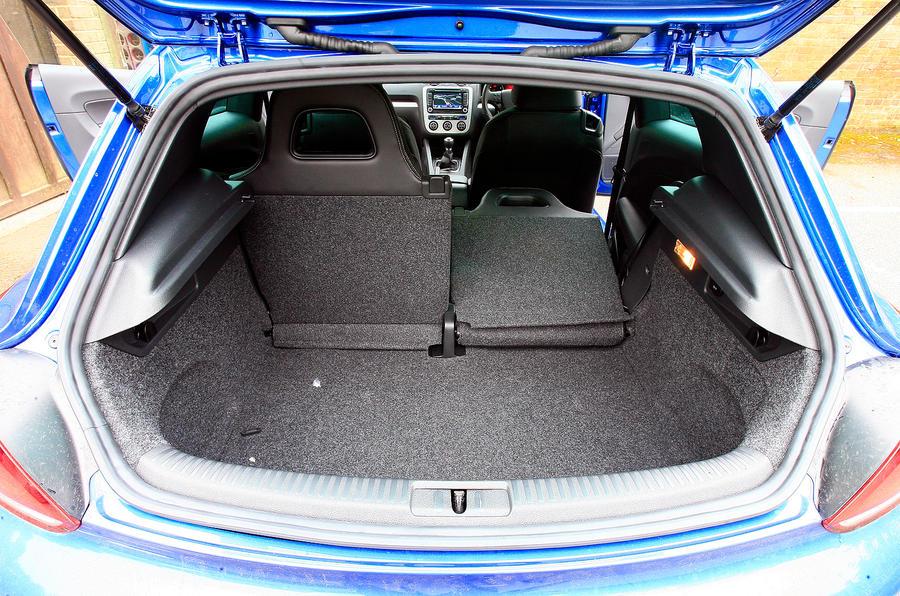 Volkswagen Scirocco boot space