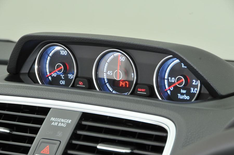 Volkswagen Scirocco interior | Autocar