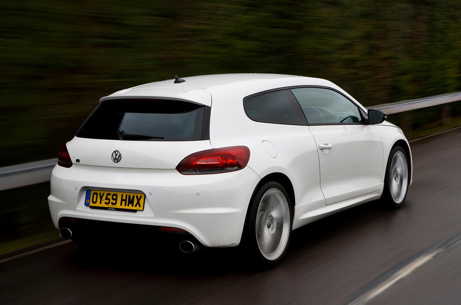 Volkswagen Scirocco R rear quarter