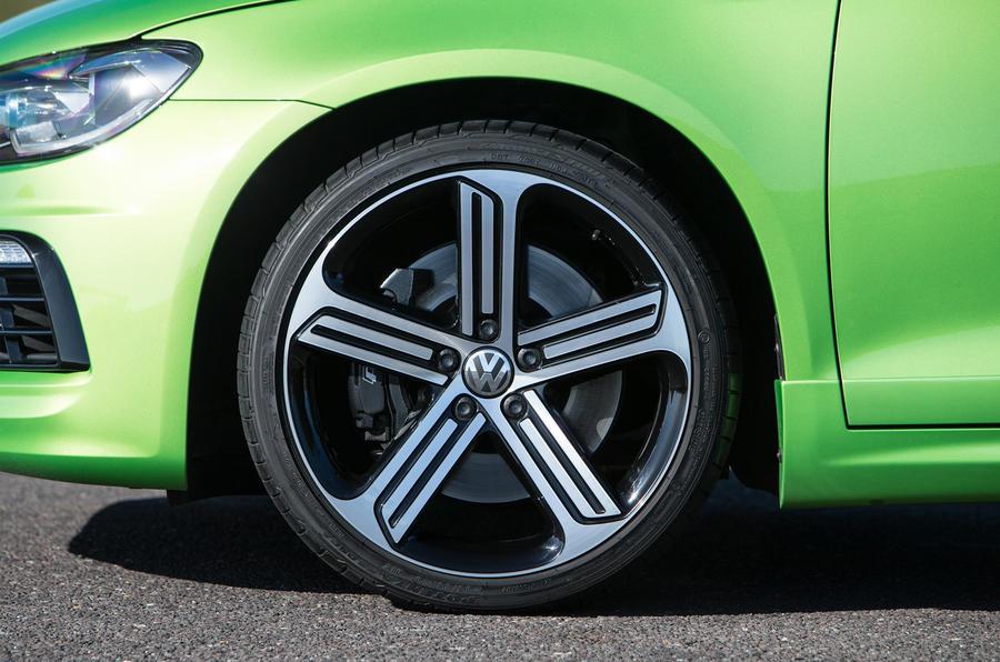 17in Volkswagen Scirocco R alloy wheels