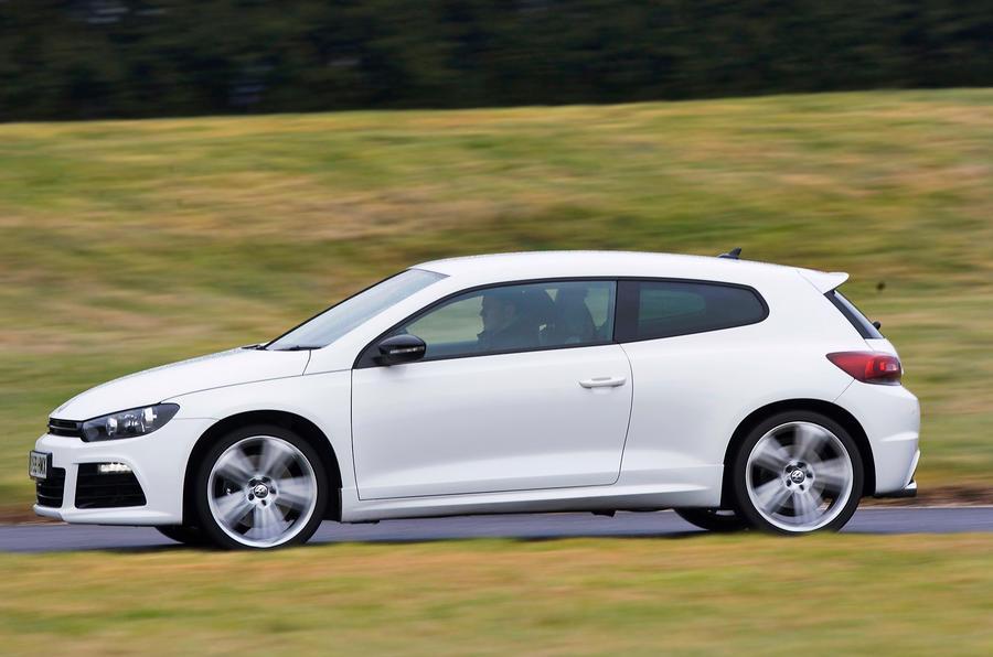 Volkswagen Scirocco R side profile