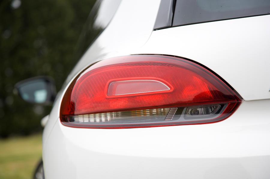 VW Scirocco rear lights