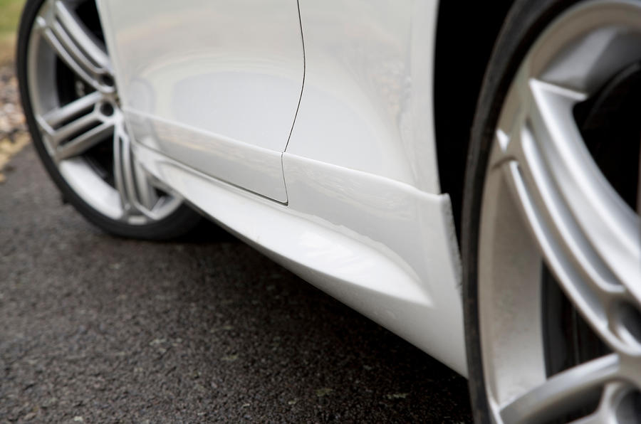 Volkswagen Scirocco R sill extensions