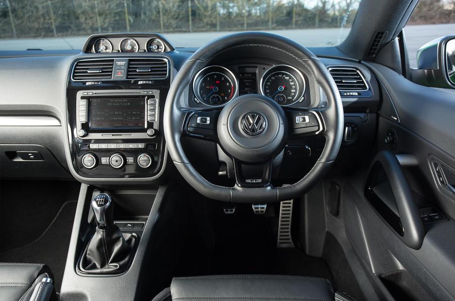 volkswagen scirocco r interior autocar