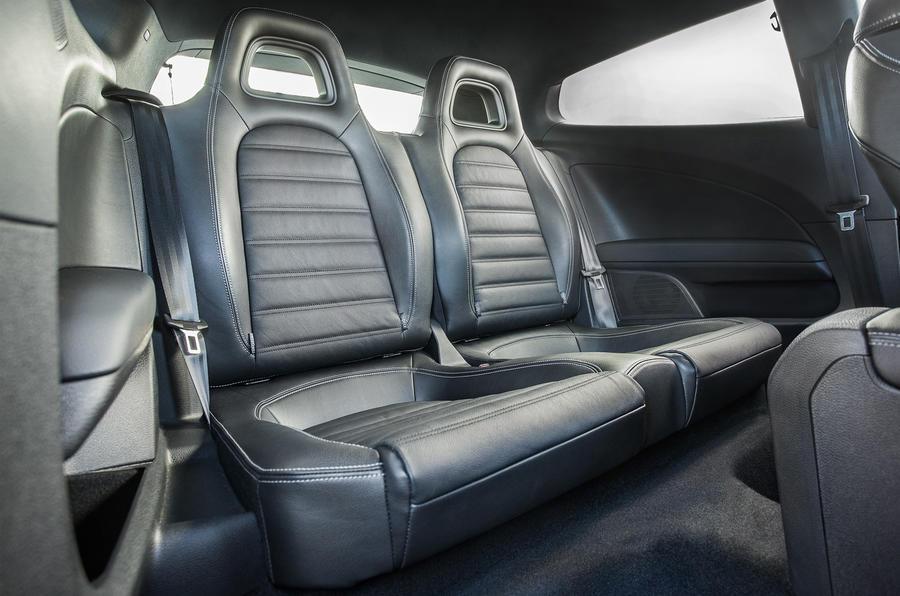 Volkswagen Scirocco R rear seats