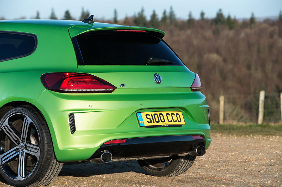Volkswagen Scirocco R rear end