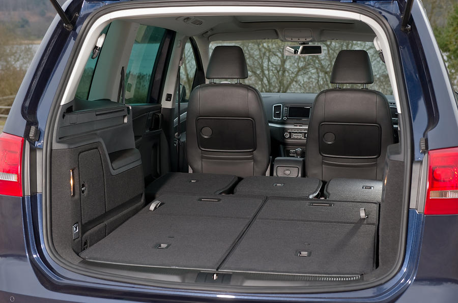 Volkswagen Sharan boot space