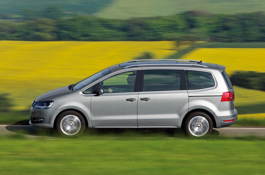 New VW Sharan from £23k