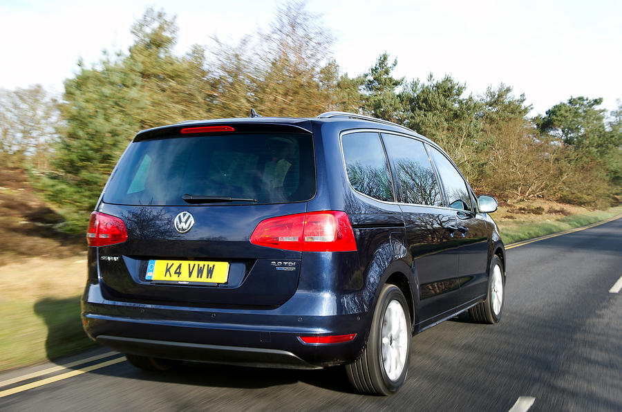 Volkswagen Sharan rear quarter