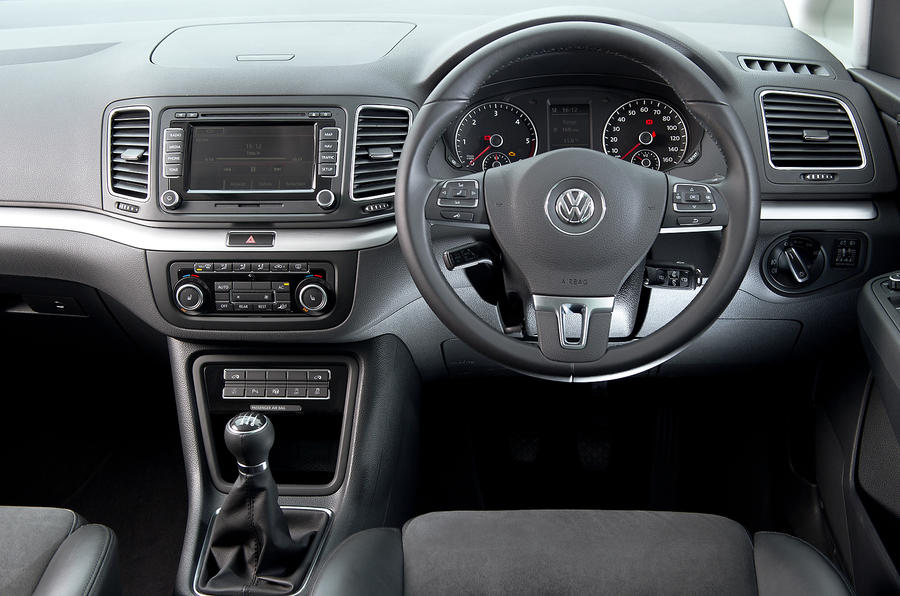 Volkswagen Sharan dashboard