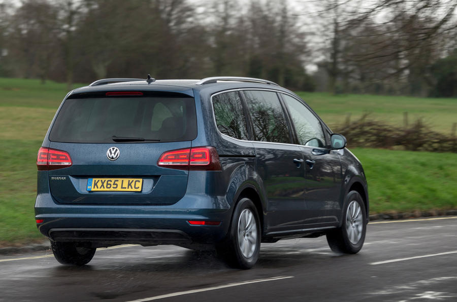 Volkswagen Sharan rear