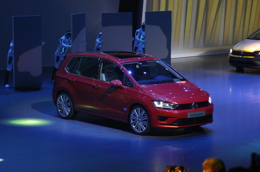 Frankfurt motor show 2013: Volkswagen Sportvan