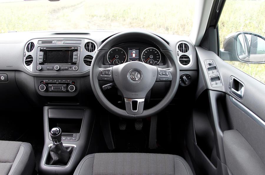 Exceptional ... Volkswagen Tiguan Dashboard ...