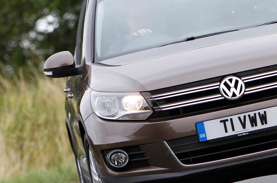 Volkswagen Tiguan front grille