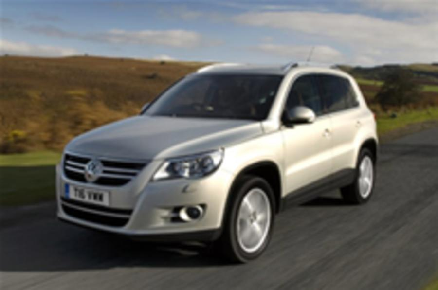 Tiguan buyers get Golf stop-gap